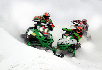 action from kirkland lake snowcross