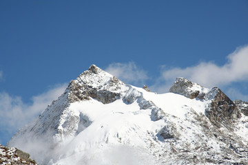 peak urus in the cordilleras,peru