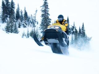 ski doo in winter