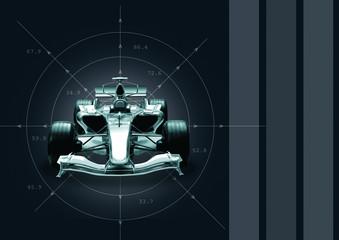 formula 1 car - speed concept
