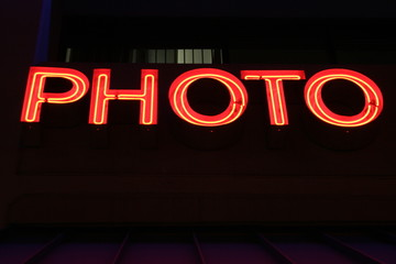 photo neon lights