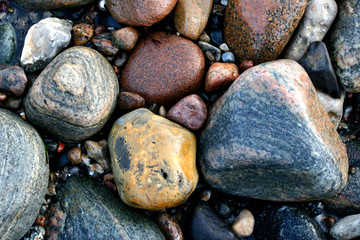 ocean stones