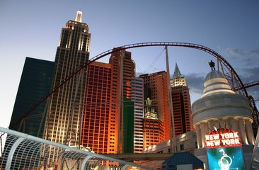 Foto op Plexiglas Las Vegas new york, new york