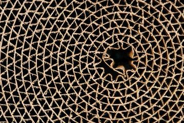 cardboard circle