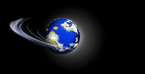 swirling world