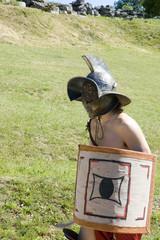 Printed kitchen splashbacks Knights gladiateur 2