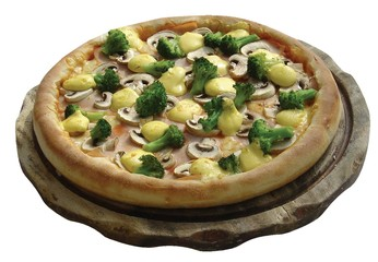 champignons-broccoli-pizza