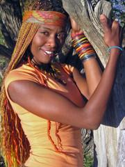 african american hippie girl