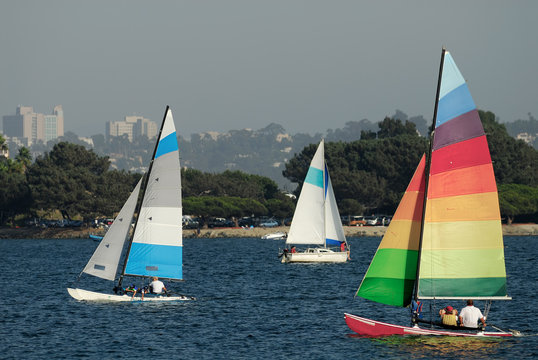 sailing in mission bay 2
