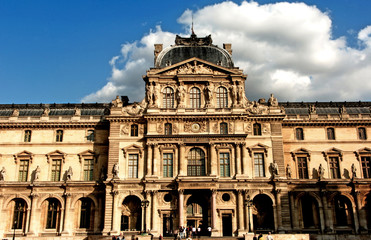 france, paris: louvre museum