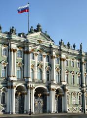 hermitage - famous russian landmark