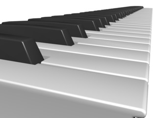 keys touches clavier de piano
