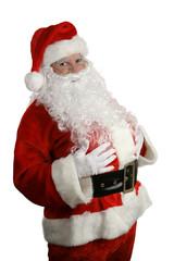 traditional  christmas santa