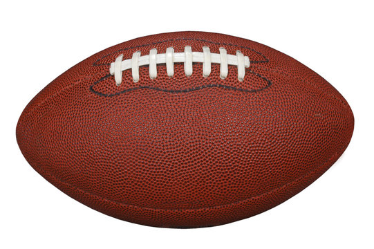 football with clipping path