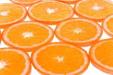 orange fruits pattern