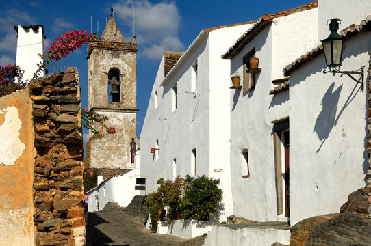 portugal, alentejo: magnificent village of monsaraz