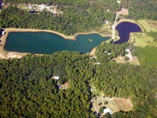 lake from air