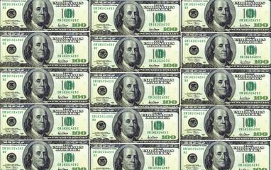 money, $100 dollar bills