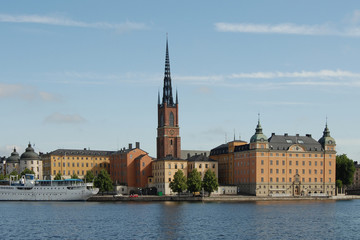 view of stockholm by day, sweden