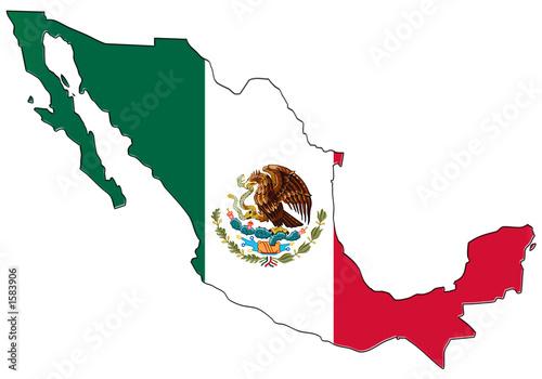 "Icono Mapa Mexico Png: ""carte Drapeau Du Méxique"" Stock Photo And Royalty-free"