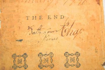 antique parchment