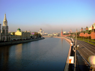kind to moscow-river