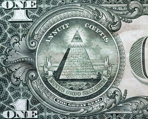 Poster Imagination great seal, pyramid