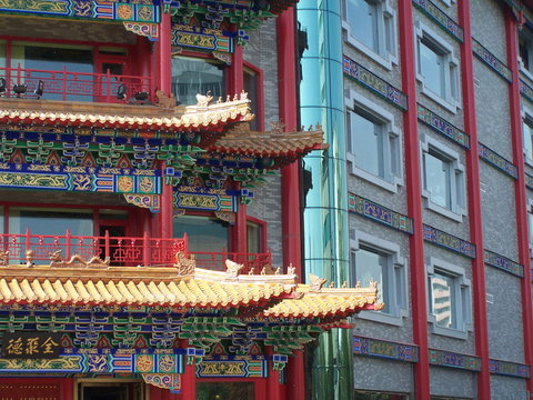 chinese style.