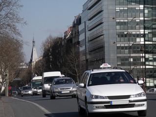 taxi of paris