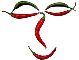 hot chili peppers face