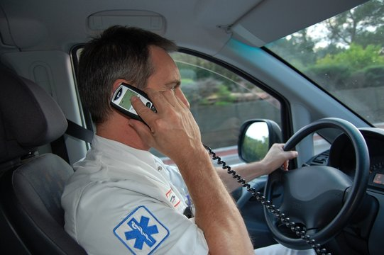 ambulancier en mission