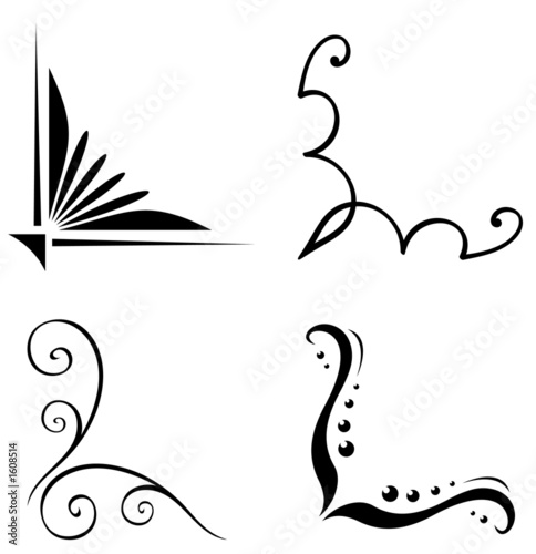 The Design Of The Clipart also Ornament 1 besides Archerswiftbooks moreover Reale Cornice Decorazione Vettore 10228267 further Stock Illustration Vector Swirl Decoration Elements Isolated White Background Collection Image46713737. on wedding scroll vector