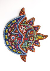 mexican beaded sun and moon