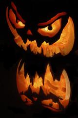 citrouille halloween enflamée 5