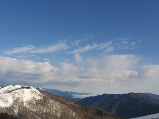 snowcovered caucasus mountain