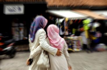 deux femmes islamiques