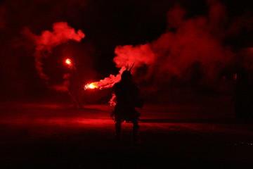 dancing fire devils