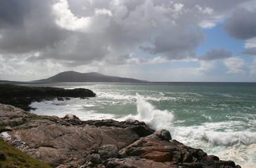 Wall Mural - western isles coast