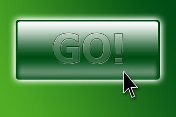 """""""go"""" button with cursor"""