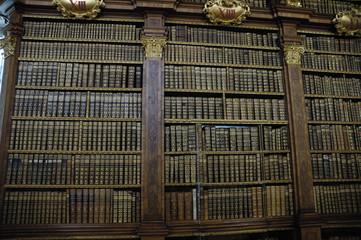 Papiers peints Bibliotheque melk library