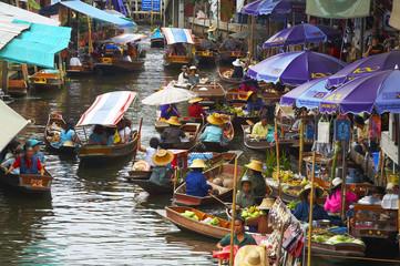 Poster Bangkok floating market-5