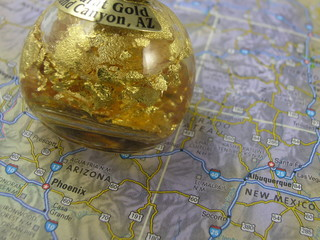 gold in arizona