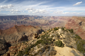grand canyon vom yaki point