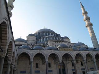 mezquita de suleyman el magnífico