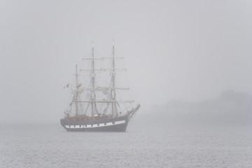 misty tallship