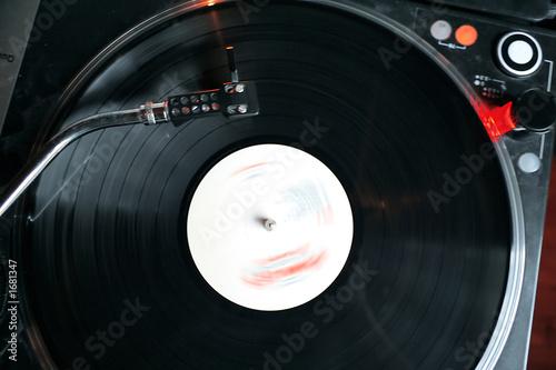 disque vinyl sur platine photo libre de droits sur la. Black Bedroom Furniture Sets. Home Design Ideas
