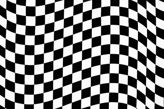 wavy checkered pattern