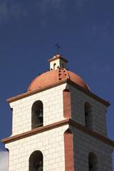mediterraner kirchturm