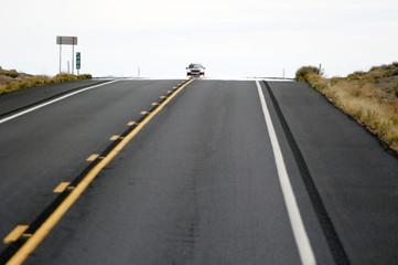 auto auf dem highway