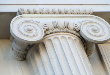 ionic column, architectural detail